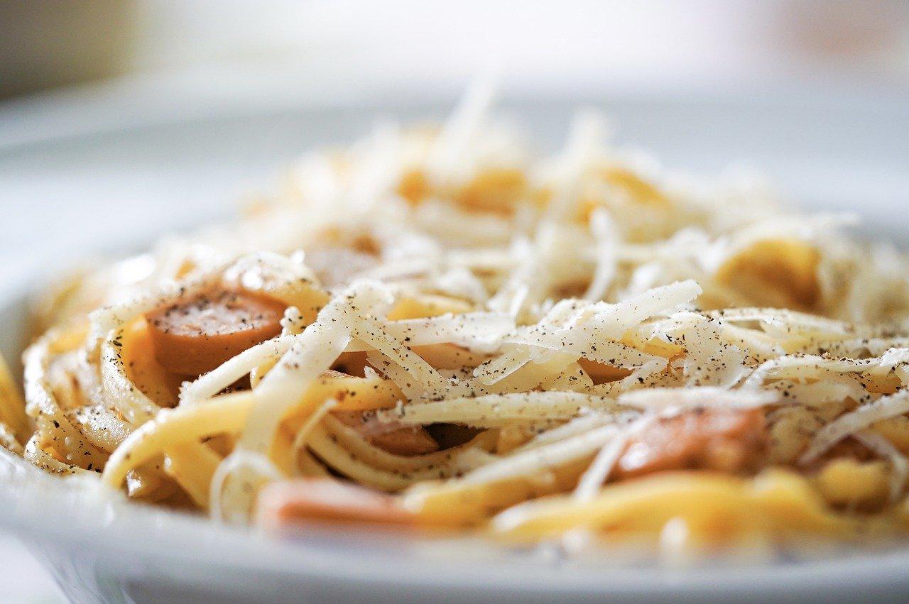 pasta, parmesan, linguine